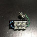 初挑戦⭐️自作LEDでルームランプを作ってハイエースにつけてみたよ